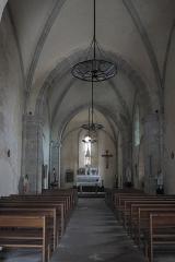 Eglise Saint-Martin - Deutsch: Katholische Kirche Saint-Martin in Linards im Département Haute-Vienne (Nouvelle-Aquitaine/Frankreich), Innenraum