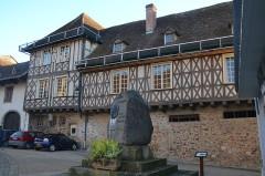 Ancien relais de poste dit Hôtel des Trois Anges - Français:   Hôtel des Trois Anges, Pierre-Buffière (Haute-Vienne, France).