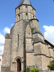 Eglise Saint-Julien - Français:   Rochechouart - Eglise Saint-Sauveur - Tour-clocher