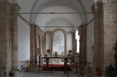 Eglise Saint-Georges - Deutsch: Kirche Saint-Georges in Roziers-Saint-Georges im Département Haute-Vienne der Region Limousin (Frankreich)
