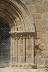 Eglise Saint-Amand - Deutsch: Kirche Saint-Amand in Saint-Amand-le-Petit im Département Haute-Vienne der Region Limousin (Frankreich)
