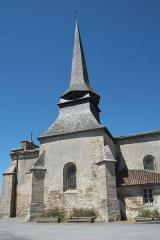 Eglise Saint-Gentien - Deutsch: Katholische Kirche Saint-Gentien in Saint-Gence im Département Haute-Vienne (Nouvelle-Aquitaine/Frankreich)