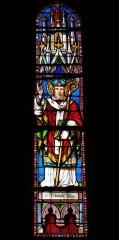Eglise Saint-Germain - Deutsch: Bleiglasfenster in der Kirche Saint-Germain in Saint-Germain-les-Belles im Département Haute-Vienne in der Region Centre (Frankreich): Darstellung: St. Germain