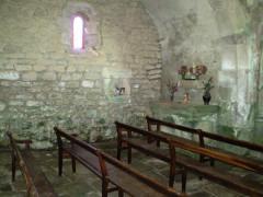Eglise de Saint-Pierre-la-Montagne - Français:   Chapelle Nord