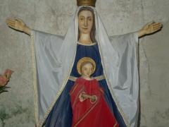Eglise de Saint-Pierre-la-Montagne - Français:   La vierge et l\'enfant, église de Saint Pierre de Saint-Léger-la-Montagne (Haute-Vienne).