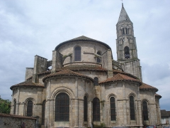 Église collégiale Saint-Léonard - English: Collégiale de Saint-Léonard-de-Noblat (Haute-Vienne, Fr).