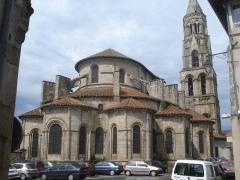 Eglise collégiale Saint-Léonard£ - English: Collégiale de Saint-Léonard-de-Noblat (Haute-Vienne, Fr).