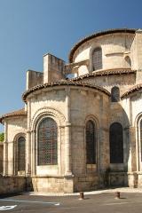 Eglise collégiale Saint-Léonard£ - Deutsch: Stiftskirche St.-Léonard-de-Noblat, Radialkapellen, Umgang u. Chor