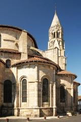 Église collégiale Saint-Léonard - Deutsch: Stiftskirche St.-Léonard-de-Noblat, Radialkapellen u. Turm von O