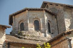 Eglise collégiale Saint-Léonard£ - Deutsch: Stiftskirche St.-Léonard-de-Noblat, Vierungslaterne von S