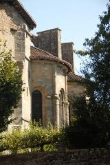 Eglise collégiale Saint-Léonard£ - Deutsch: Stiftskirche St.-Léonard-de-Noblat, Chorhaupt von SW