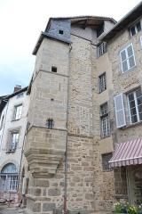 Maison, ancien logis du 16e siècle - Français:   Balade dans le cadre du Mois international de la contribution francophone, Saint-Léonard-de-Noblat (Haute-Vienne, France).