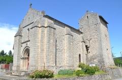 Eglise Saint-Sulpice - Français:   Eglise du bourg de Saint-Sulpice-Laumière (Haute-Vienne, France).