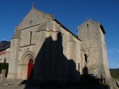Eglise Saint-Sulpice - Français:   Eglise du bourg de Saint-Sulpice-Laurière (Haute-Vienne)