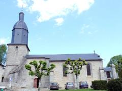 Eglise Saint-Sylvestre - Français:   Saint-Sylvestre (Haute-Vienne) - Eglise