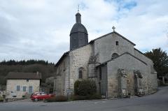 Eglise Saint-Sylvestre - Deutsch: Katholische Kirche Saint-Sylvestre in Saint-Sylvestre im Département Haute-Vienne (Nouvelle-Aquitaine/Frankreich)