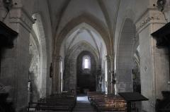 Eglise Saint-Sylvestre - Deutsch: Katholische Kirche Saint-Sylvestre in Saint-Sylvestre im Département Haute-Vienne (Nouvelle-Aquitaine/Frankreich), Innenraum