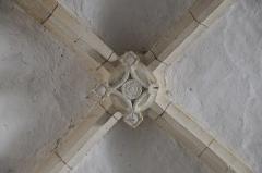 Eglise Saint-Sylvestre - Deutsch: Katholische Kirche Saint-Sylvestre in Saint-Sylvestre im Département Haute-Vienne (Nouvelle-Aquitaine/Frankreich), Gewölbeschlussstein