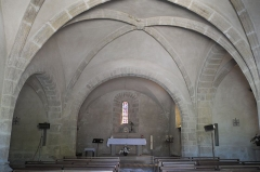 Eglise Saint-Yrieix - Deutsch: Kirche Saint-Yrieix in Saint-Yrieix-sous-Aixe im Département Haute-Vienne (Nouvelle-Aquitaine/Frankreich), Innenraum