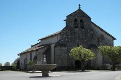 Eglise Saint-Yrieix - Deutsch: Kirche Saint-Yrieix in Saint-Yrieix-sous-Aixe im Département Haute-Vienne (Nouvelle-Aquitaine/Frankreich)