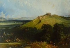 Ruines du château - French painter and engraver
