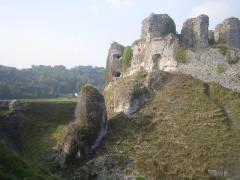 Ruines du château -  ancienne porte Sud