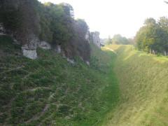Ruines du château -  remparts nord-est