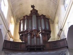Eglise Saint-Michel - English: Organ Bolbec