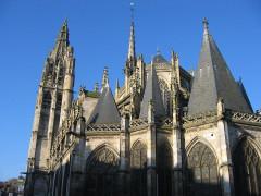 Eglise Notre-Dame -  Caudebec-en-Caux, Normandy, church chevet
