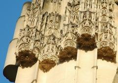 Eglise Notre-Dame -  Caudebec-en-Caux (Seine-Maritime, France).  L'église Notre-Dame.