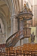 Eglise Saint-Jacques - Deutsch: Gotische Kathedrale Saint-Jacques in Deppe, eine Stadt in Frankreich, Normandie.