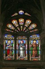 Eglise Saint-Jacques - Deutsch: Kirchenfenster in der  Kathedrale Saint-Jacques in Deppe, eine Stadt in Frankreich, Normandie.