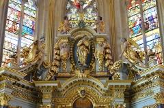 Eglise Saint-Jacques - le retable de l'église