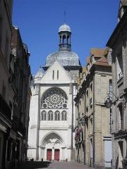 Eglise Saint-Jacques - Église Saint-Jacques à Dieppe (France)