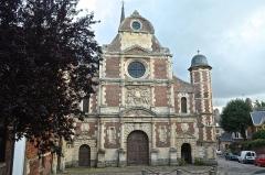 Collège de la Ville - Français:   Façade de la chapelle du collège des Jésuites à Eu (Seine-Maritime, France)