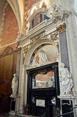Collège de la Ville - Français:   Chapelle du collège des Jésuites d\'Eu (Seine-Maritime, France), mausolée de Catherine de Clèves.