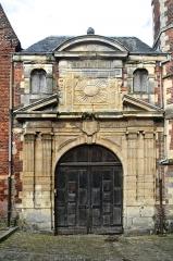 Collège de la Ville - Français:   Entrée du collège des Jésuites d\'Eu (Seine-Maritime, France)