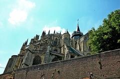 Collégiale Notre-Dame et Saint-Laurent -  Eu, Seine Maritime, France