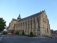 Collégiale Notre-Dame et Saint-Laurent - English: Collégiale Notre-Dame et Saint-Laurent d'Eu