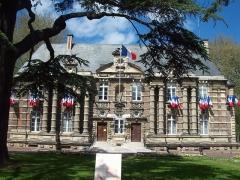 Château - Français:   Mairie d'Harfleur (Seine-Maritime)