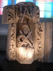 Eglise Saint-Martin - Statue de Saint André dans l'église Saint-Martin d'Harfleur.
