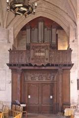 Eglise Saint-Martin - Orgue de l'église Saint-Martin d'Harfleur, classé MH au titre objet.