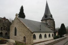 Ancienne église du Petit-Appeville - Français:   église du petit Appeville vue du chevet (#100WikiCommonsDays day 30)