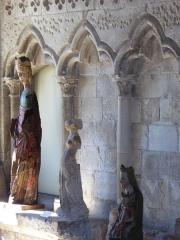 Ancien prieuré de Graville ou ancienne abbaye de Sainte-Honorine - Abbaye de Graville, Arcatures  de la salle capitlaire