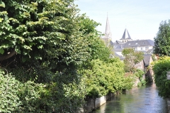 Ancienne abbaye - English:   Montivilliers (France,Normandy), Lézarde river, 2013