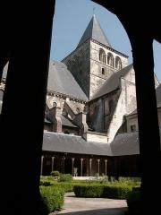 Ancienne abbaye - Deutsch:   Abtei von Montivilliers, Kreuzgang Datum: 02.05.2011 Urheber: M. Pfeiffer alias Gordito1869 Quelle: privates Fotoarchiv des Urhebers