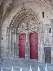 Ancienne abbaye - Deutsch:   Abtei von Montivilliers, Kirche, Portal Datum: 02.05.2011 Urheber: M. Pfeiffer alias Gordito1869 Quelle: privates Fotoarchiv des Urhebers