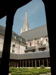 Ancienne abbaye - Deutsch:   Abtei von Montivilliers Datum: 02.05.2011 Urheber: M. Pfeiffer alias Gordito1869 Quelle: privates Fotoarchiv des Urhebers