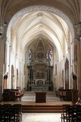Ancienne abbaye - Français:   Abbaye de Montivilliers: chœur de l\'église abbatiale.
