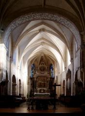 Ancienne abbaye -  Le choeur de l\'église abbatiale de Montivilliers (Seine-Maritime).